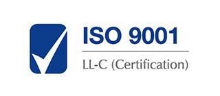 ISO 9001 LL-C Certification - tytuł dla MAWO Technology